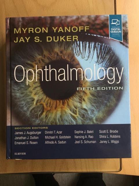 Dr. Fábio Lavinsky é co-autor de capítulo na edição 2019 de Yanoff Duker Ophthalmology