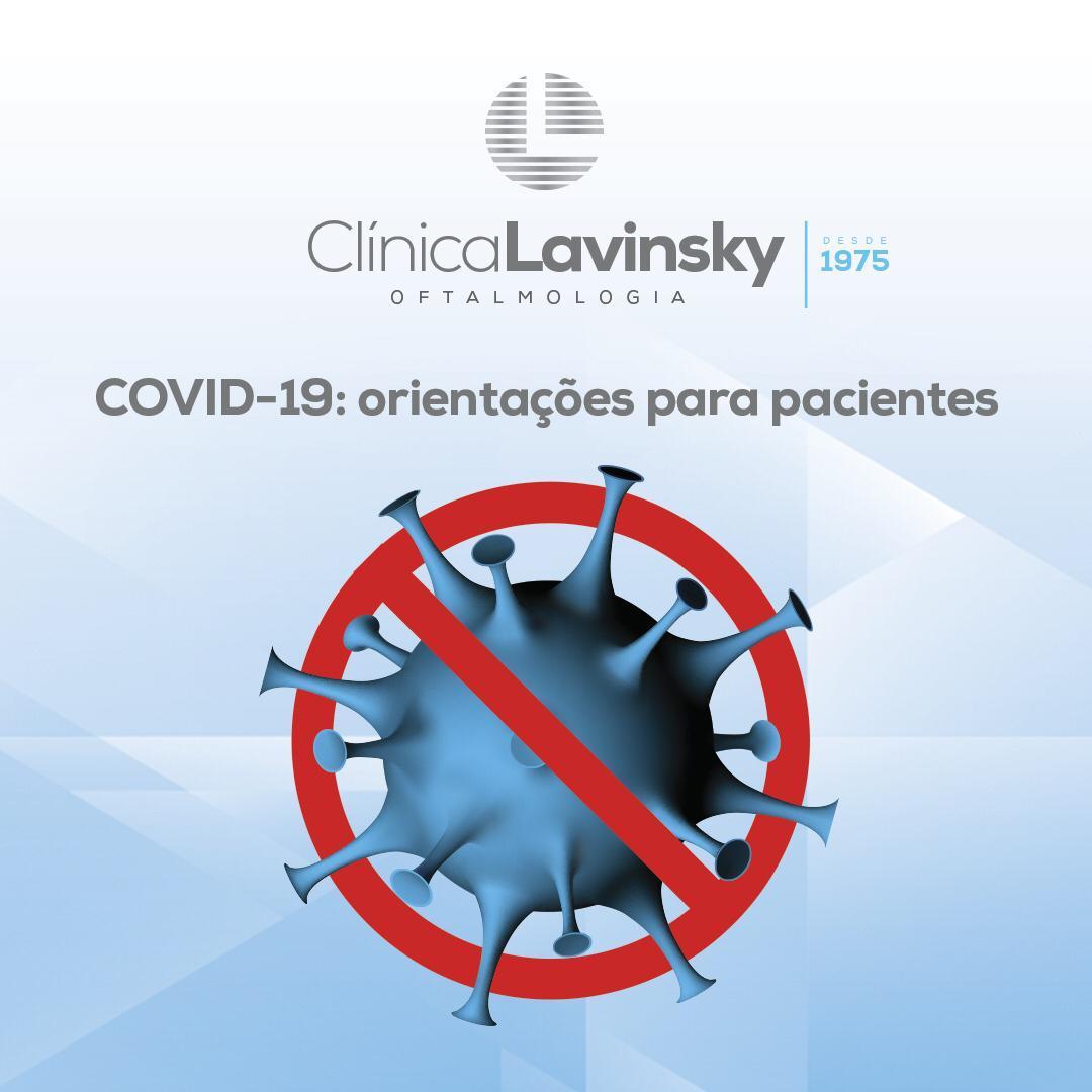 COVID-19: orientações para pacientes